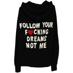 THE FOLLOWER HOODIE (1,705 MXN) ❤ liked on Polyvore featuring tops, hoodies, sweaters, hooded pullover, hoodie top, sweatshirt hoodies and hooded sweatshirt