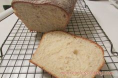 EASY AS 1-2-3 BREAD | Moore or Less Cooking Food Blog
