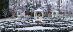 Secret town garden design in the heart of Headington, Oxford Plant Design, Garden Design, Labyrinth Maze, Winter Garden, In The Heart, Portfolio Design, Stepping Stones, Oxford, Table Decorations