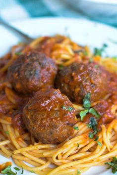 Spicy Baked Venison Meatballs are juicy and tender and very easy to make. They freeze beautifully so keep a supply in your freezer to make quick main dishes, hoagies, and appetizers. Venison Meatballs, Italian Meatballs, Venison Burgers, Venison Stew, Spicy Meatballs, Meatball Recipes, Sausage Recipes, Beef Recipes, Healthy Recipes