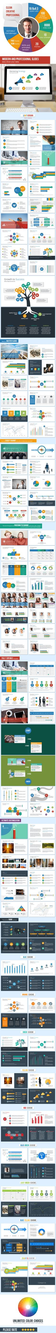 Pitch Deck NY PowerPoint Presentation Template - Business PowerPoint Templates