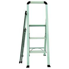 Shop for ascent designer slim 3 step stool at Bed Bath & Beyond. Buy top selling products like Ascent Designer Series Slim Stool and undefined. 3 Step Stool, 3 Step Ladder, Kitchen Step Ladder, Step Treads, Wood Steps, Stools For Kitchen Island, Folded Up, Ladder Decor, Bath