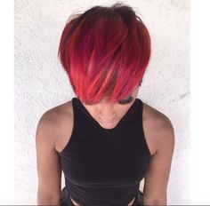 Love This Color Mix by @msklarie - http://community.blackhairinformation.com/hairstyle-gallery/short-haircuts/love-this-color-mix-by-msklarie/
