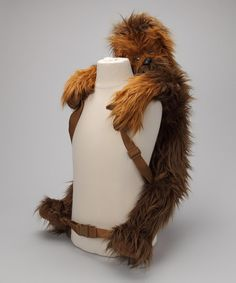 This Chewbacca Backpack Buddy by Star Wars is perfect! #zulilyfinds Would make my day everyday to see this on Ry!