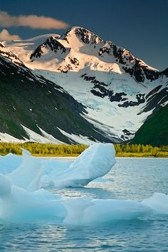 Chugach National Forest, Alaska ~ We disembarked our ship at Seward, Alaska, and took a train inland to Anchorage, passing through the beautiful Chugach National Forest where we were treated to the most spectacular views of the trip!  So beautiful!