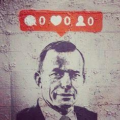 Tony Abbot PM of Australia 2015. Buys FaceBook & Twitter likes.