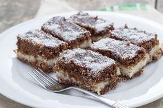 Our favourite lamington recipes - Starts at 60 Chocolate Topping, Chocolate Icing, Melting Chocolate, Square Cake Pans, Square Cakes, Coconut Icing, Kolaci I Torte, Individual Cakes, Classic Cake