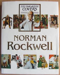 """Norman Rockwell 332 Magazine Covers Hardcover Coffee Table Book 12"""" x 15""""   eBay"""