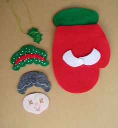 Ideas que mejoran tu vida Christmas Items, Felt Christmas, Christmas And New Year, Christmas Holidays, Christmas Crafts, Christmas Decorations, Xmas, Christmas Ornaments, Holiday Decor