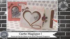 """Vidéo-Tuto """"Carte Magique"""" par Coul'Heure Papier"""