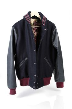 Draught Dry Goods Varsity Jacket - $300.00