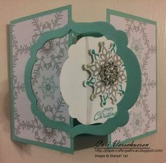 Creative Paper Crafting: Gated Fancy Fold Card