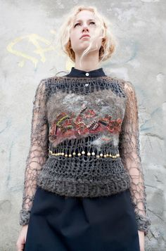 knitGrandeur: Amanda Henderson Con fieltro