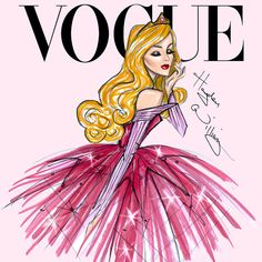This Is What Disney Princess Would Look Like As Vogue Cover Models | Playbuzz
