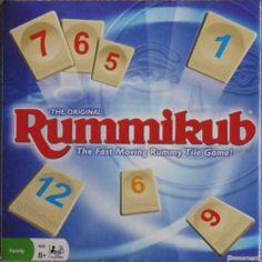 Rummikub The Original The Fast Moving Rummy Tile Game Board Game Family Fun | eBay