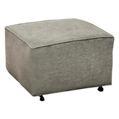 Ottoman in Brushed Gray