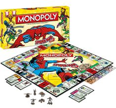 Spider-Man Collector�s Edition Monopoly Board Game