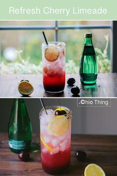 Refresh Cherry Limeade - Click link to watch the recipe:   https://www.youtube.com/watch?v=9L3CXk4vi3U&index=11&list=PLfHL3gEU7cZmmZgwqxQdXd8OqPKZWWhPT
