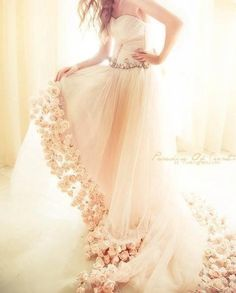 whimsical wedding gown