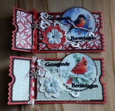 Webshop AnMaCreatief: AnMaCreatief Facebook Challenge #18 3d Cards, Pop Up Cards, Folded Cards, Xmas Cards, Merry Christmas Card, Handmade Christmas, Mini Scrapbook Albums, Mini Albums, Ticket Card