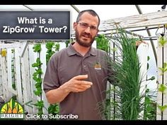 Zipgrow tower, uses Aeroponic and hydroponics as well as more biodiersity such as red worms