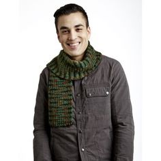 Camouflage Scarf - Warming Accessories - Patterns | Yarnspirations