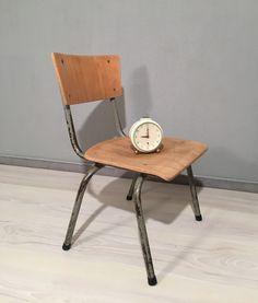 Vintage Stühle - Kinderstuhl Loft * Industrial * Mid Century - ein Designerstück von Mid-Century-Frankfurt bei DaWanda
