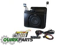 200 / 400 WATT POWERED SUBWOOFER AND AMP - 2014 Chevrolet Silverado 1500 (19303117)