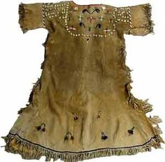 shoshone woman's dress