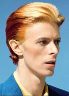David Bowie: The Man Who Fell to Earth.
