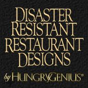 "Members of HungryGenius® are former National Restaurant Franchisors. HungryGenius® is a 5 CLIO Award Winning Creative Team that specializes in Enterprise Conceptioneering. HungryGenius® has prepared the NATIONS FIRST ""DISASTER RESISTANT RESTAURANT DESIGNS shown on our 'Designs' page dubbed The DaddyO Dome! Design Show, Restaurant Design, Creative"