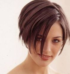 Pixie with long bangs. From Google Image Search.