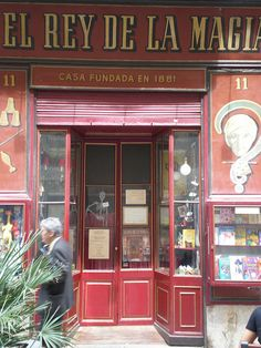 Botigues antigues de Barcelona El Rey de la Magia