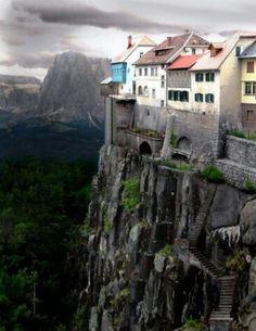 Castellfullit de la Roca Gerona