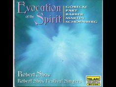 Arvo Part:  Magnificat (Robert Shaw Festival Singers)