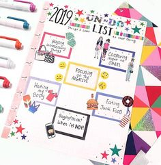 As 2019 gets closer and closer. it got me thinking about things I want to leave in So this is my Un-Do list. Things I want to stop… Planner Tips, Planner Layout, Planner Pages, Life Planner, Planner Stickers, Planner Supplies, Discbound Planner, Planner Dashboard, Mini Happy Planner