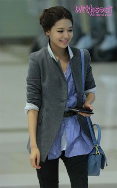 SNSD Sooyoung cute outfit