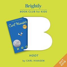 Carl Hiaasen's Hoot is sure to entertain and inspire young readers. Dive deeper into the book with these discussion question and activities for kids. Learning Activities, Activities For Kids, Carl Hiaasen, Grade Books, Evil People, Middle Schoolers, Know The Truth, Chapter Books, Stories For Kids