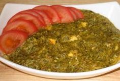 Poulet Palak (recette indienne aux épinards) (PL)