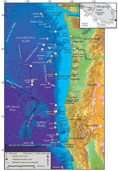 North American Earthquake Fault Lines Map located in North America ...