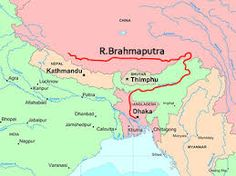 The Brahmaputra, the only male river in India, becomes as broad as 18 km in some areas, which makes it one of the widest rivers in the world.
