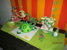 Festa dinossauro 3 aniversário baby G