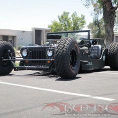 Jeep Willys rat rod