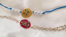 How To Make Rakhi At Home/Unique Idea With Resin/ designer Style Kundan Rakhis-Bhaiya-Bhabi - YouTube Resin Bracelet, Bracelets, Rakhi Making, Handmade Jewelry Tutorials, Vanz, Diy Ideas, Pairs, Unique, Youtube