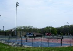 Basketball courts in St. Joseph