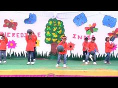Ball Dance By U K G kids - YouTube