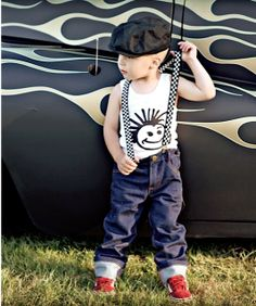 Knuckleheads clothing boys suspenders