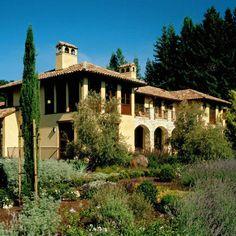 Private Residence - Woodside, California mediterranean exterior