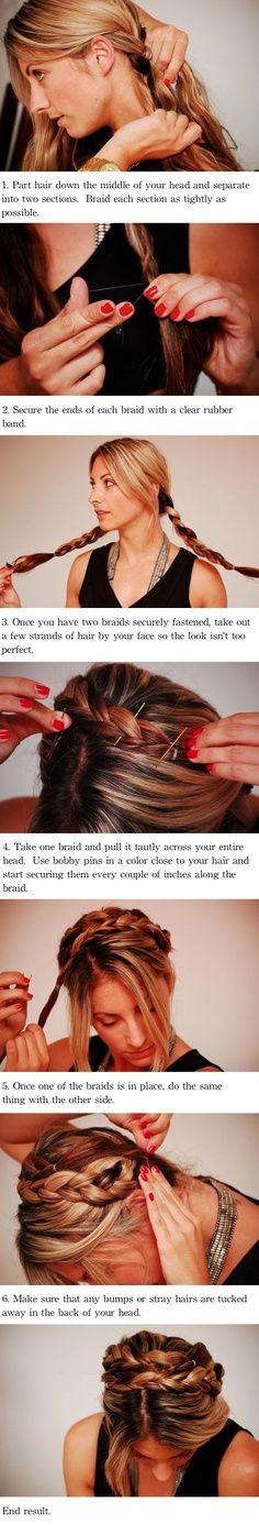 easy hair do for hot days