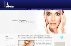 Páginas web - Hands Care Center